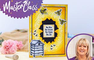 Master Class - 27th July - Nature's Garden Bee-Youtiful Scrapbooks