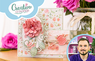 Creative Cravings - 27th Jan - Nature's Garden Rose Garden, Embossing Folders with Joe & Craig