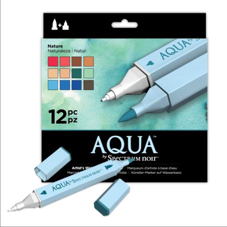 Aqua Watercolour Markers