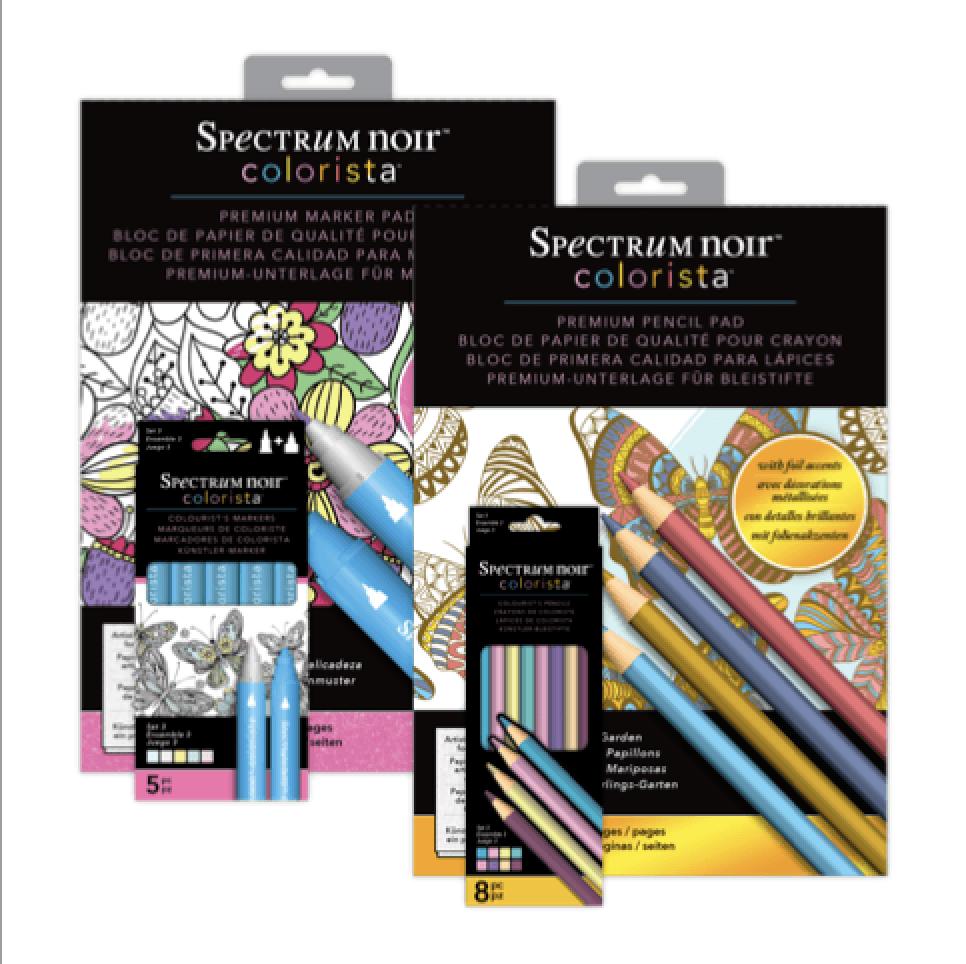 Colorista Colouring Range