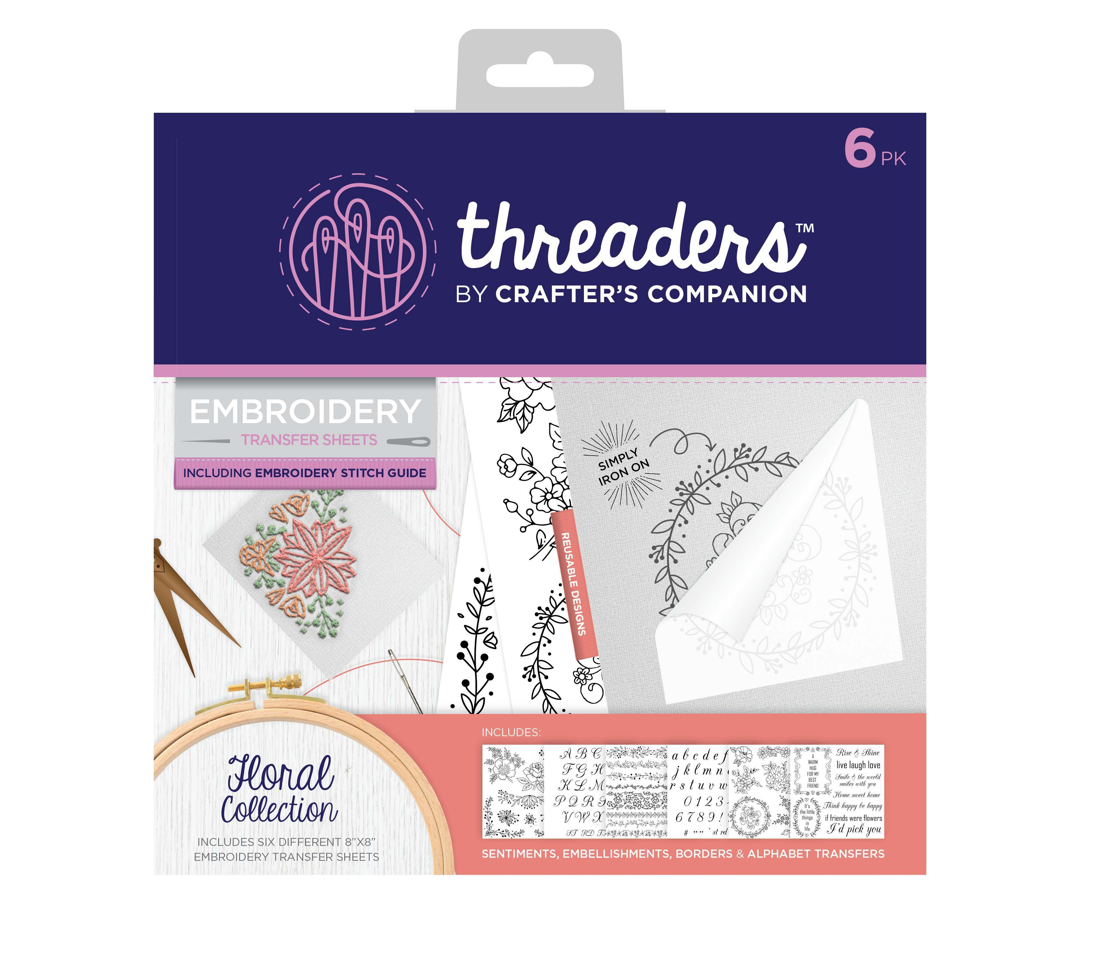 Embroidery Transfer Sheets