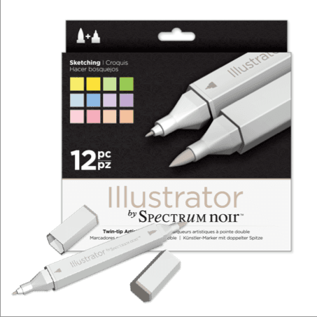 Illustrator Markers