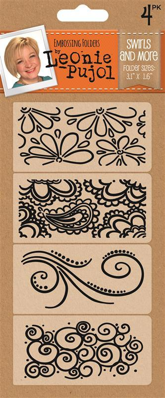 Typography Embossing Folders