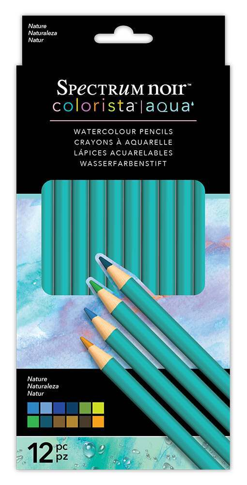 Colorista Aqua Pencils - Sets of 12