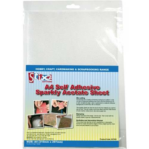 Acetate and Adhesive Sheets