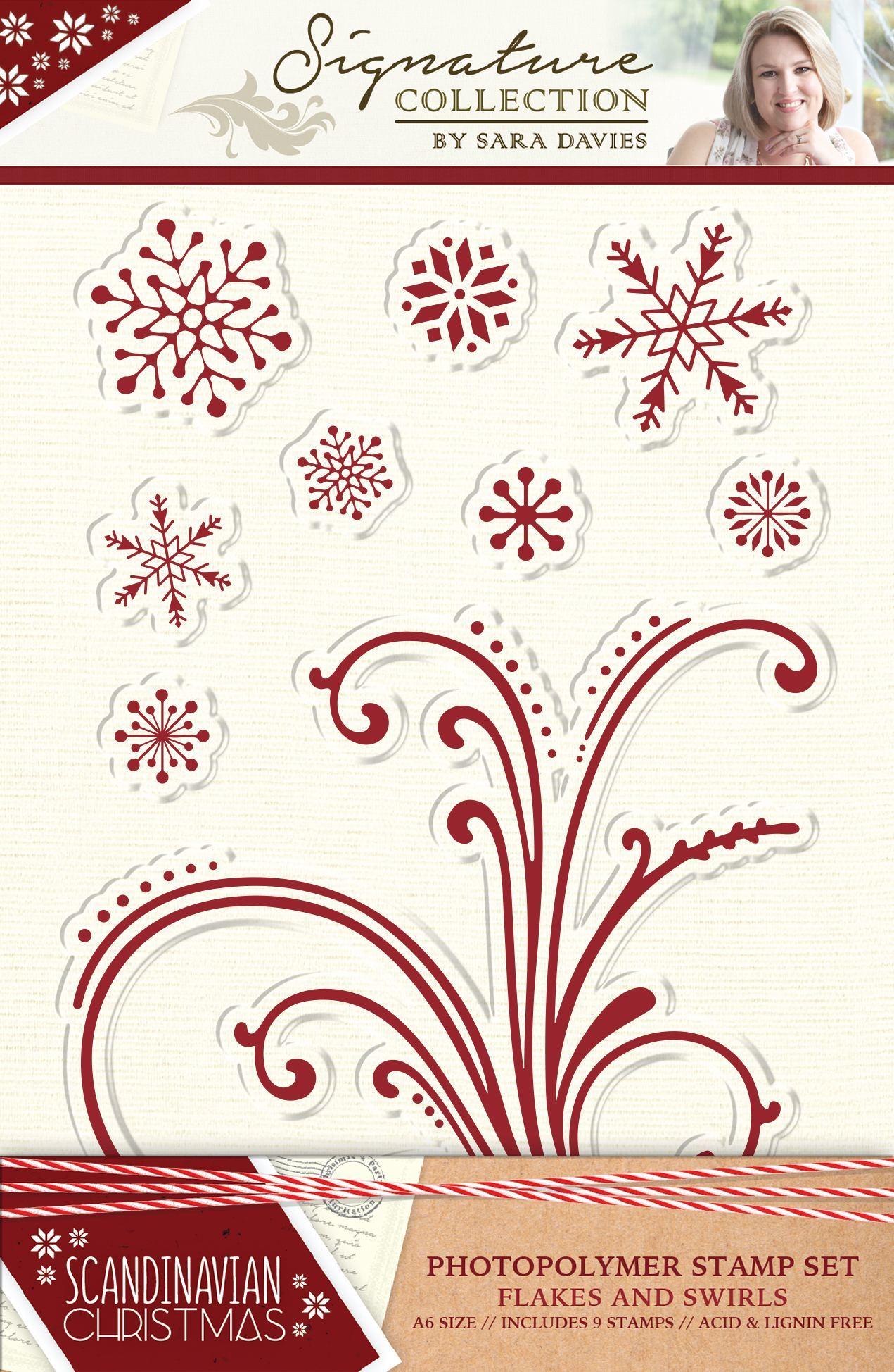 Sara Signature - Scandinavian Christmas - Stamps
