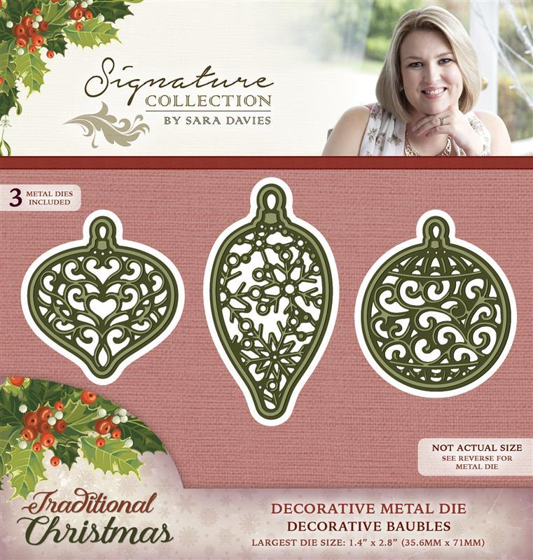 Sara Signature - Traditional Christmas Dies