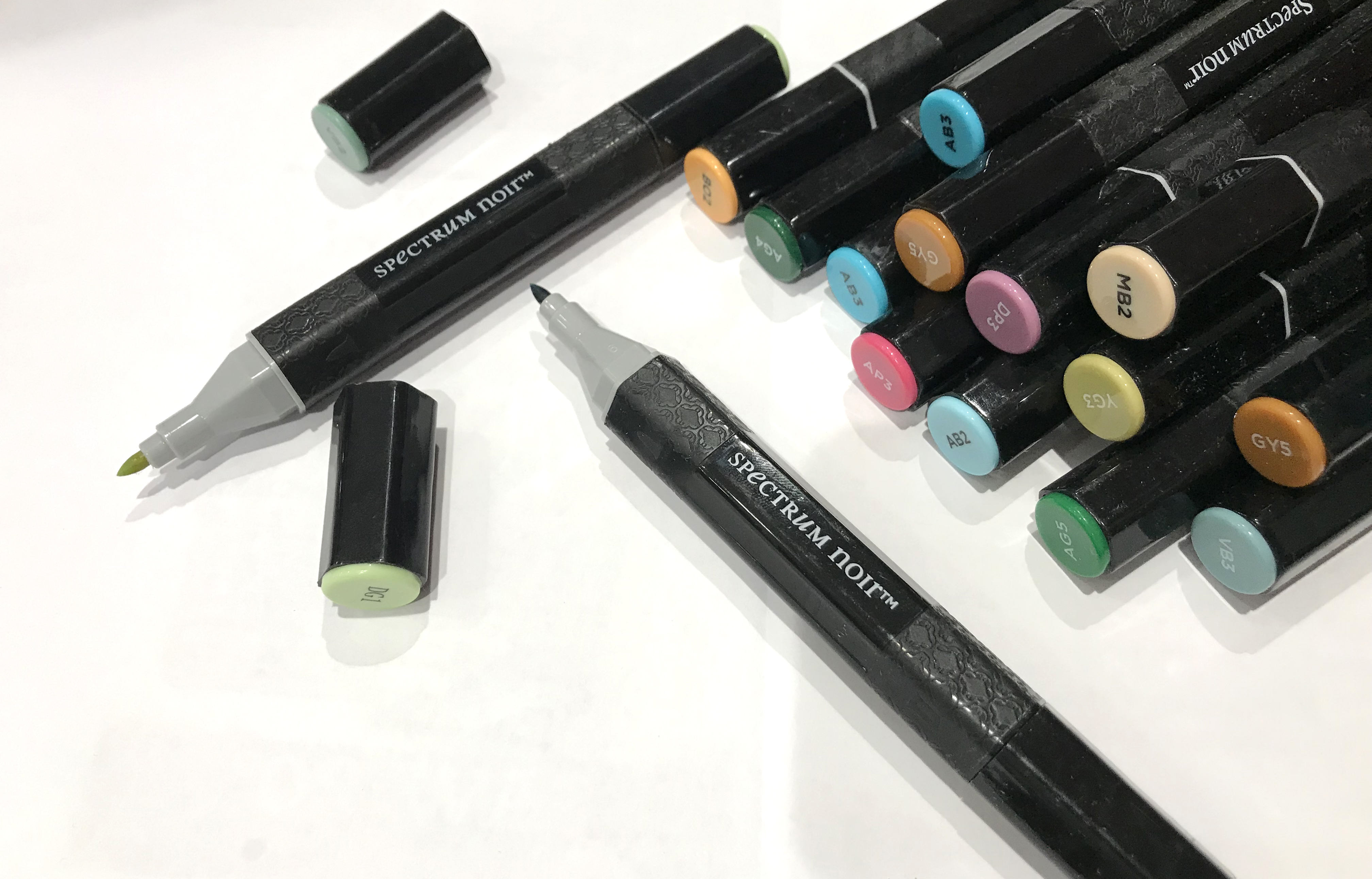 Colouring System Markers