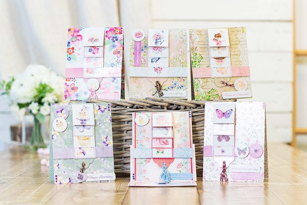 Crafter's Companion Waterfall Card Kits