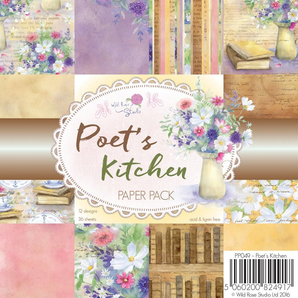 Wild Rose Studio Paper Packs