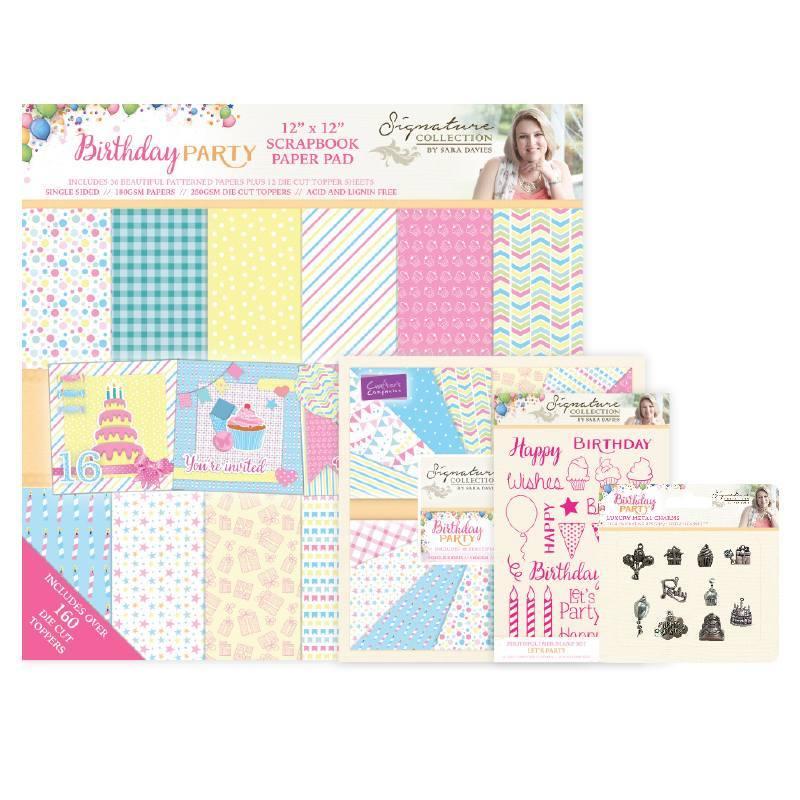 Sara Signature - Birthday Party Papercrafting Elements