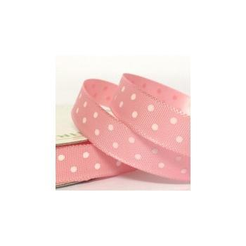 10mm SFS dotted satin ribbon