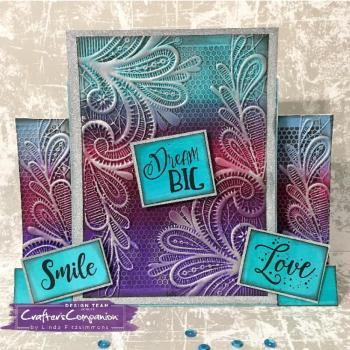 Crafter's Companion 3D Embossing Folders
