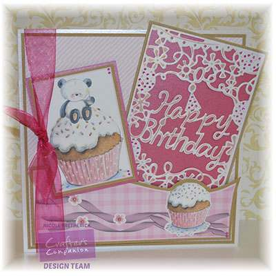 Create-a-Card A6 greeting dies