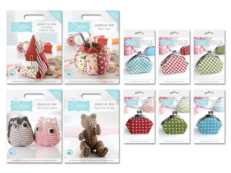 Debbie Shore Learn to Sew Kits