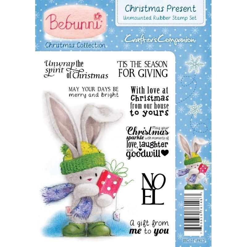 Bebunni Christmas Stamps