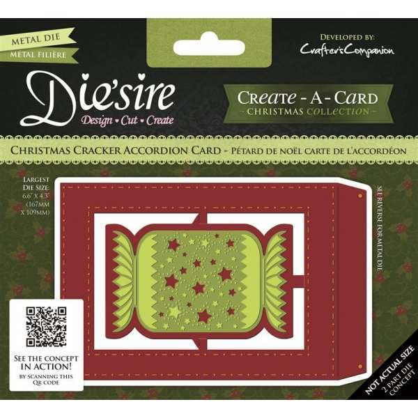 Create a Card Accordion Base Card Dies
