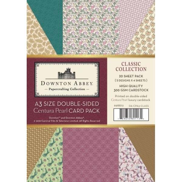 Downton Abbey Double Sided A3 Card Packs