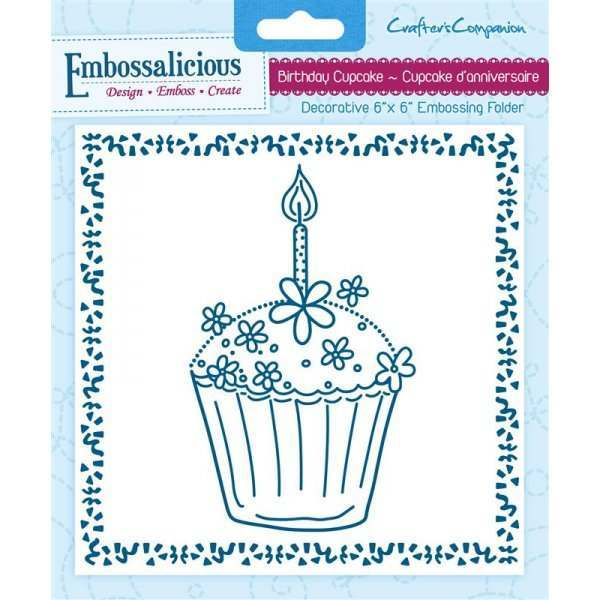"Embossalicious 6"" x 6"" Embossing Folders"