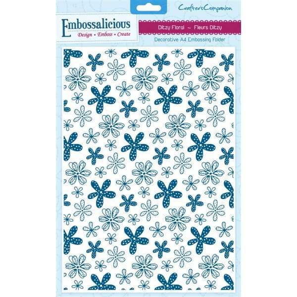 Embossalicious A4 Folders 3 for £30