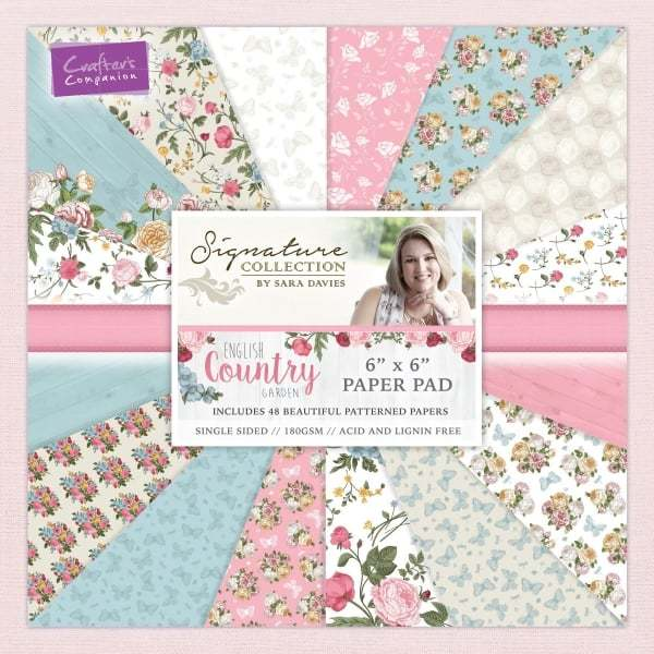 English Country Garden - Paper Pads and Stamps