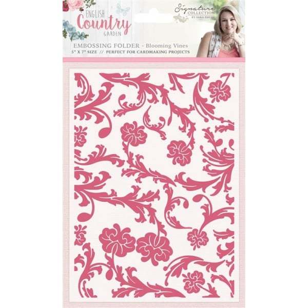 English Country Garden - Embossing Folders