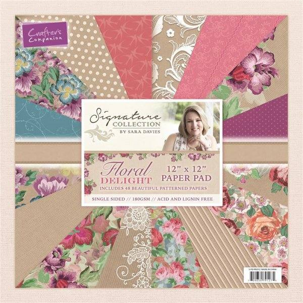 Floral Delight Paper Pads