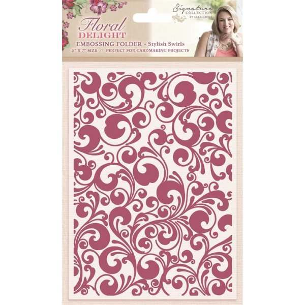 Floral Delight Embossing Folders