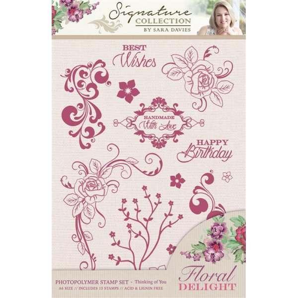 Floral Delight Stamp