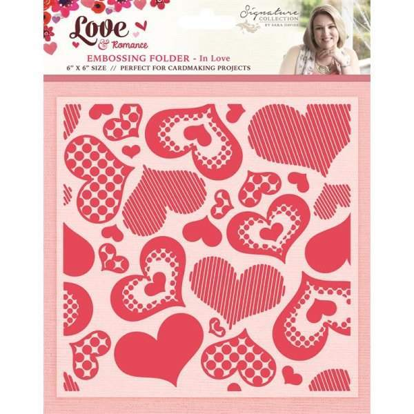 Love and Romance - Embossing Folders