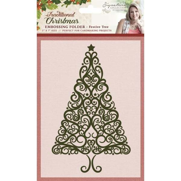 Traditional Christmas - Embossing Folders