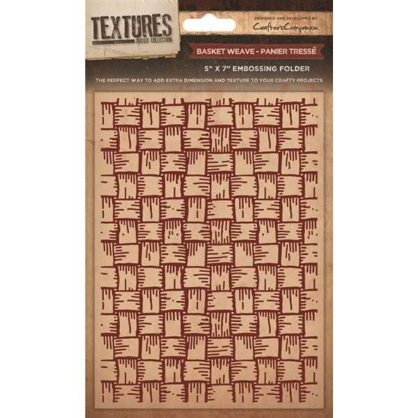 """Textures 5""""x7"""" Embossing Folders"""