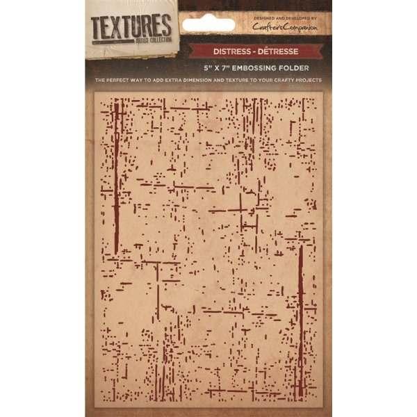 Textures 5x7 Embossing Folders