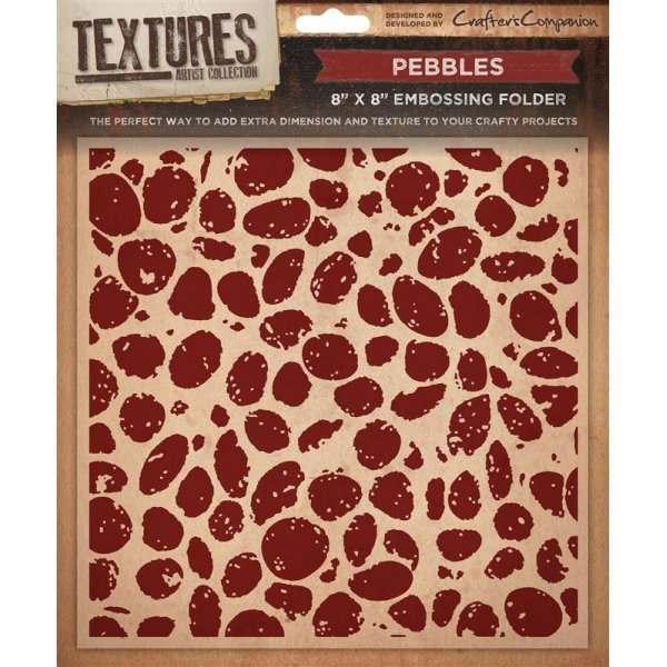 Textures 8x8 Embossing Folders