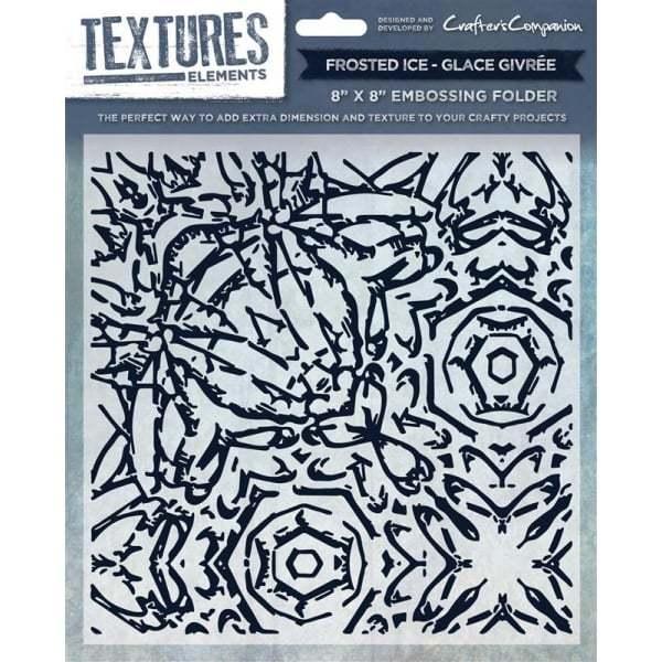 Textures Elements 8x8 Embossing Folders