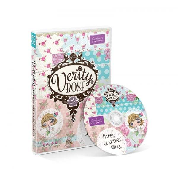 Verity Rose Papercrafting CD-ROM