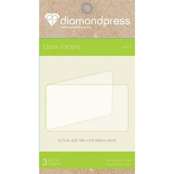 Diamond Press Blank Folder Refills