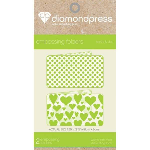 Diamond Press Embossing Folders