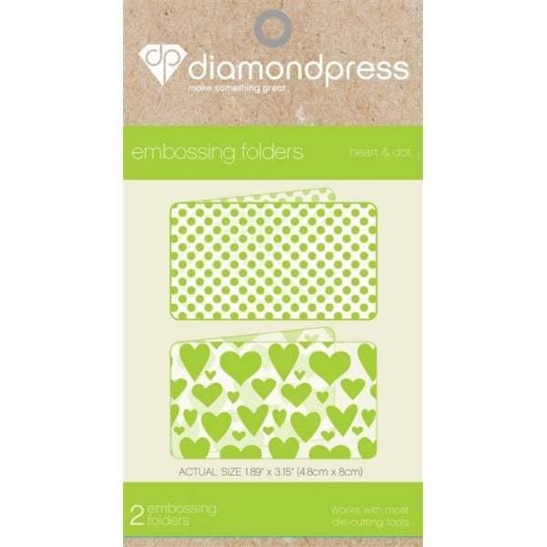 Diamond Press Embossing Folders