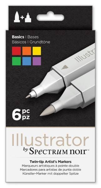 Illustrator Markers - Sets of 6