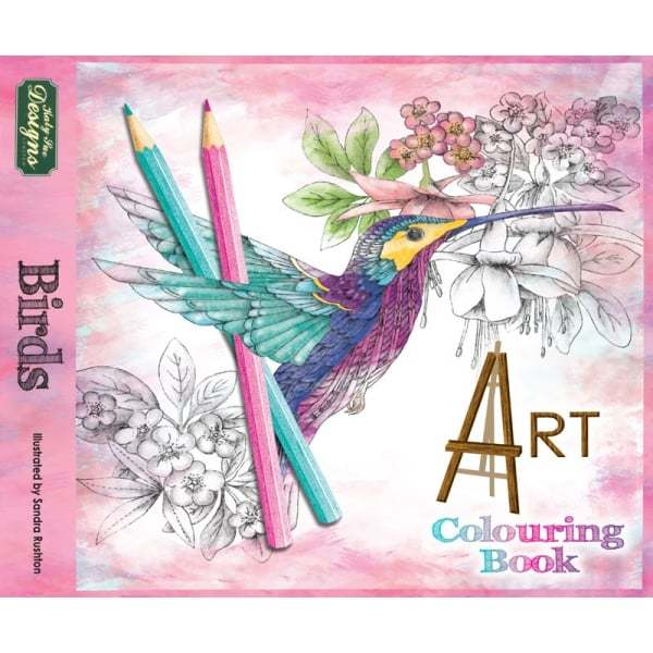 Katy Sue Adult Colouring Books