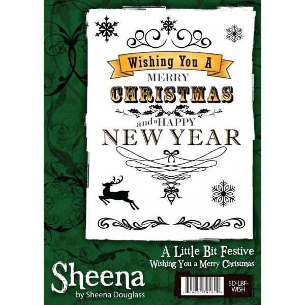Sheena Douglas Festive Stamps