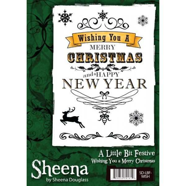 Sheena Douglass A Little Bit Festive Stamps