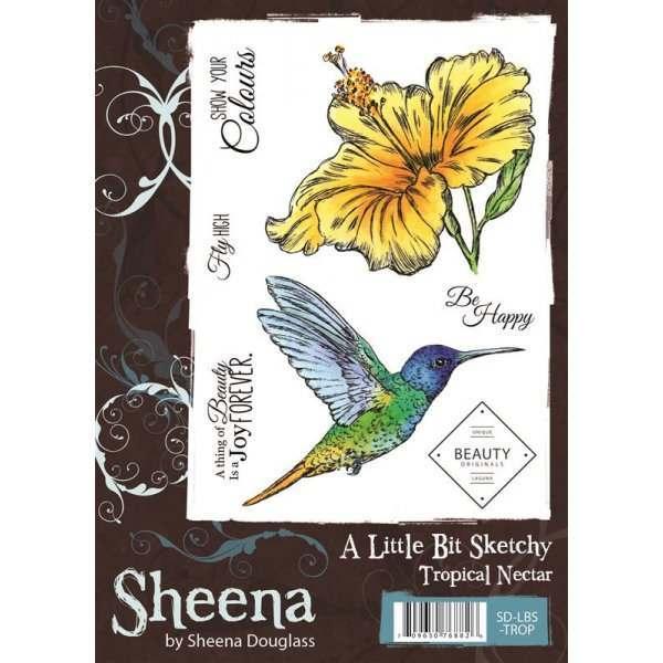 Sheena Douglass Laguna Surf A6 Stamps