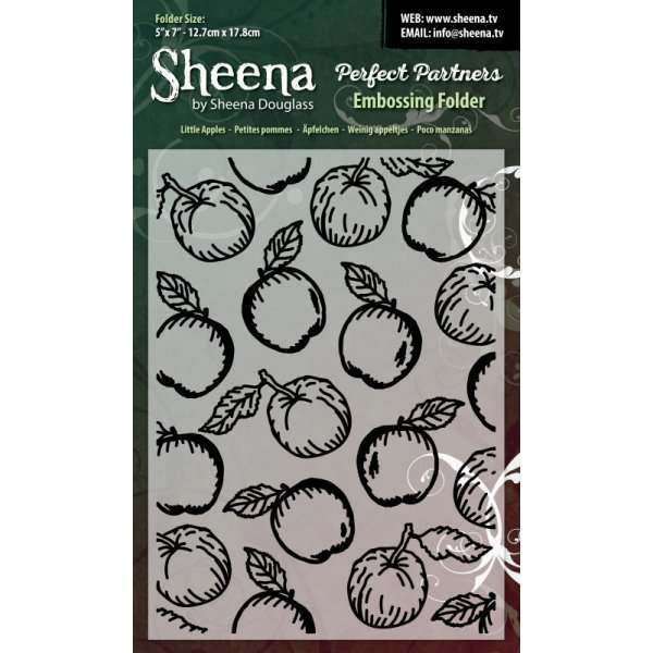 "Sheena Douglass 5"" x 7"" Embossing Folders"