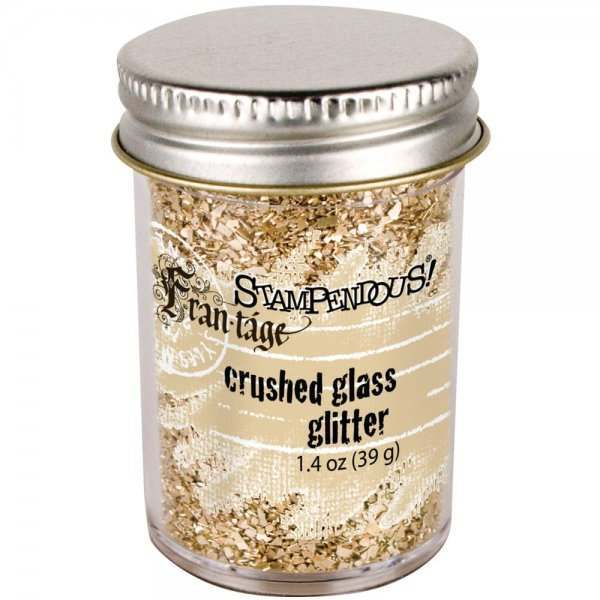 Stampendous Fran-tage Crushed Glass Glitter
