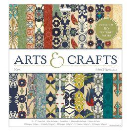 Docrafts 12 x 12 Paper Pad (50pk) - Arts & Crafts