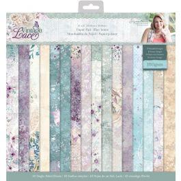 Sara Signature Vintage Lace - 12x12 Paper Pad