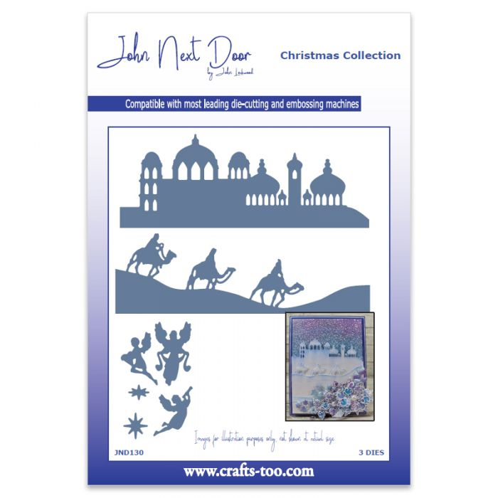 John Next Door Christmas Dies.Nativity Scenes John Next Door Christmas Dies 3pcs