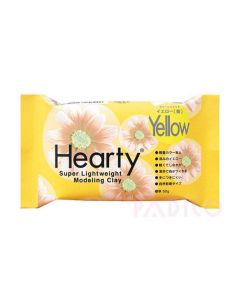 Hearty Air Drying Modelling Clay - Yellow